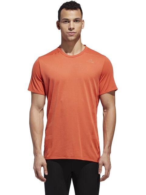 adidas Supernova Hardloopshirt korte mouwen Heren oranje